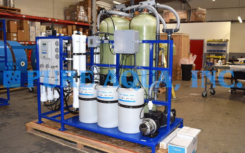 Skid Mounted Reverse Osmosis System for Drinking Water USA