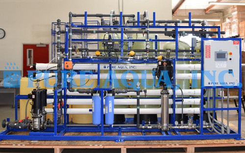 Skid Mounted RO System with NSF Components for Fish Cannery Alaska, USA
