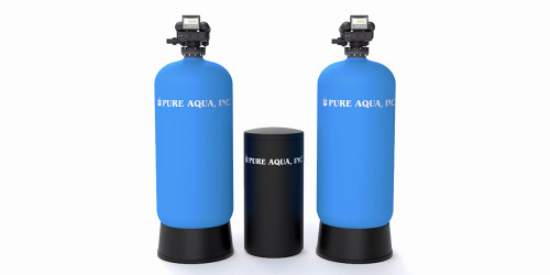 SF-250A  Commercial Water Softener System with Autotrol Valve