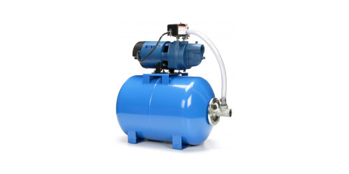EK Shallow Well Jet Pump Tank Mounted System