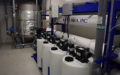 High Temperature RO System for Industrial and Commercial Applications