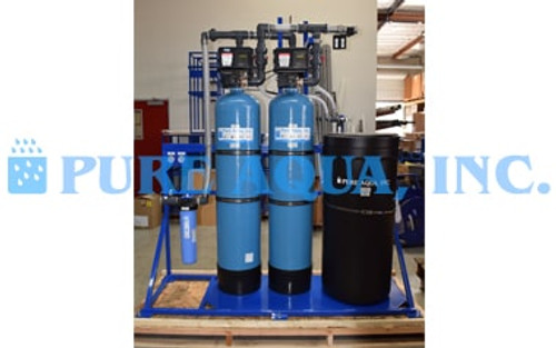 Ion Exchange System for Nitrate Removal from Water 15 GPM - USA