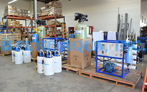 Commercial Watermaker RO Systems for Drinking Water 2 x 4,700 GPD - Malaysia