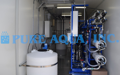 Containerized Well Water Reverse Osmosis System USA