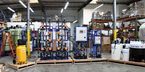 Ultrafiltration System for Rain Water Treatment 20 GPM - San Francisco