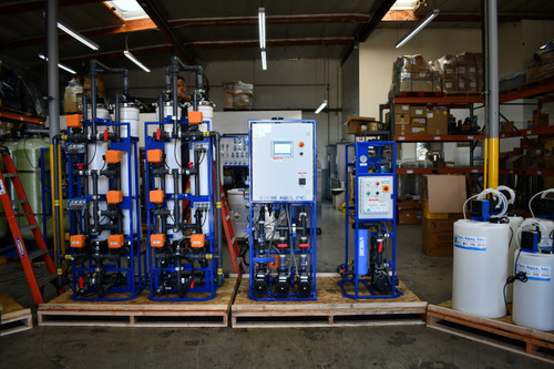Tap Water RO system for Electronics Application 9,000 GPD