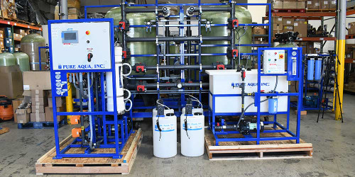 Ultrafiltration System for University Research 5000 GPD - Chile