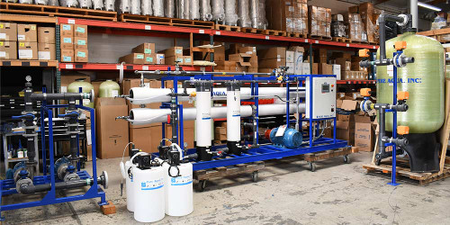 Industrial Desalination Reverse Osmosis Plant 32,000 GPD - Maldives