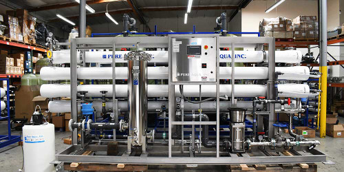 Nanofiltration System for Beverage Use 100 GPM - Canada