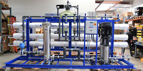 Nanofiltration System for Agricultural Use 87,000 GPD - Oman