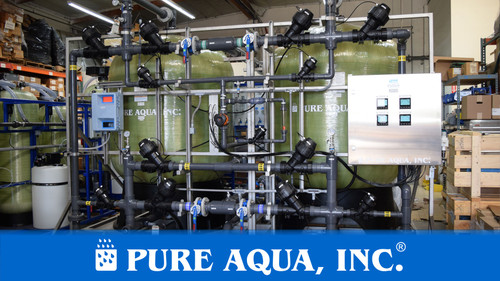 Industrial Filtration Plant for Bottling Packaging Facility