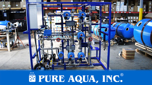 Ultrafiltration System for Oil & Gas Application 10 GPM