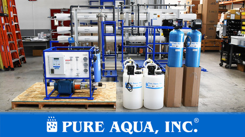 Commercial Seawater Reverse Osmosis System 1,300 GPD