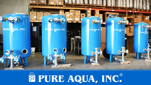 Industrial Water Filtration System 100 GPM - Kuwait