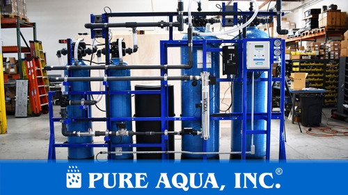 Skid Mounted Water Filtration System 20 GPM - Costa Rica