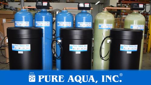 Twin Alternating Water Softeners 20-40 GPM