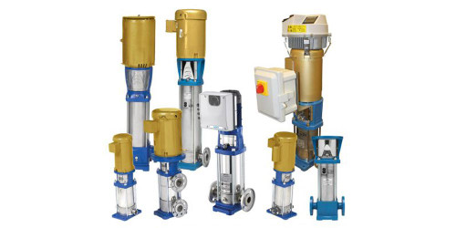 Goulds e-SV Series SS Vertical Multi-Stage Pumps