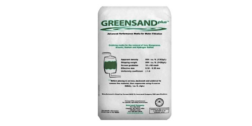 Clack Greensand Filtration Media