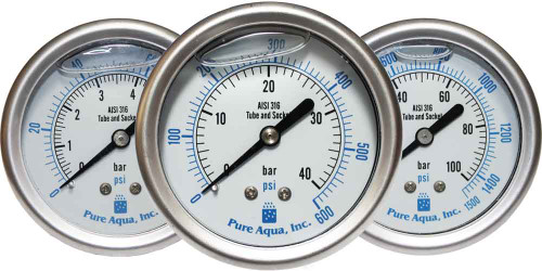 Stainless Steel Pressure Gauges PG Series