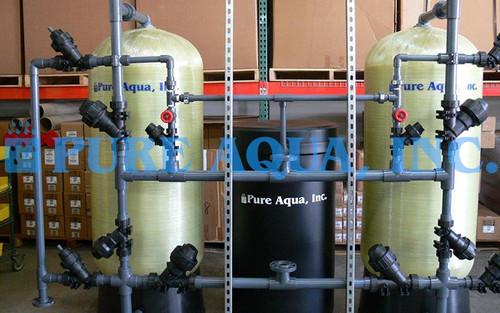 Twin Water Softening System 100,000 GPD - Pakistan