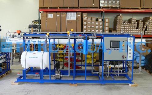 Industrial Brackish Reverse Osmosis 2X 36,000 GPD - Yemen