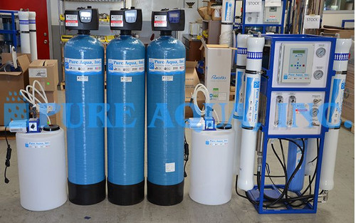 RO Water Purification Equipment 6000 GPD - Kenya