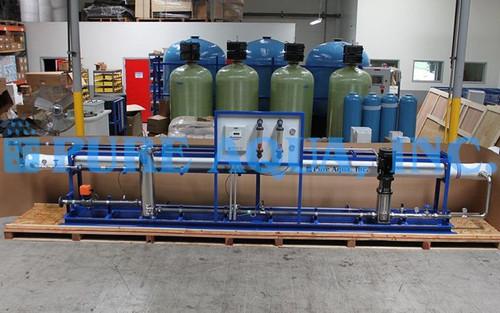 Industrial Brackish Reverse Osmosis 43,000 GPD - Azerbaijan