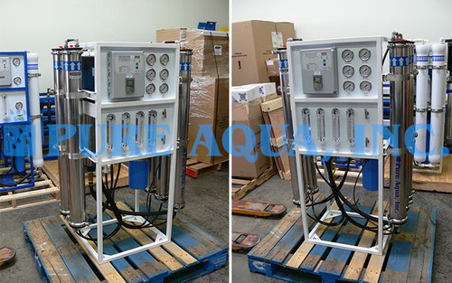 Double Pass Reverse Osmosis System 4500 GPD - Mexico