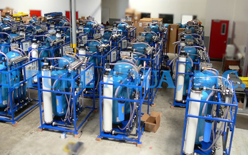 Ultrafiltration Systems 225 X 32,000 GPD - Iraq