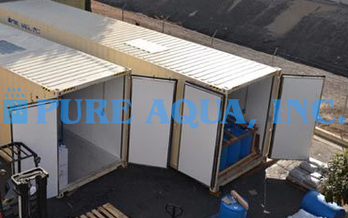 Containerized Water Treatment System 66,000 GPD - Libya