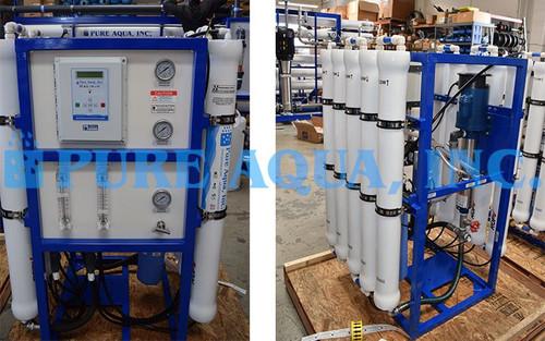 Brackish Water Reverse Osmosis 50m3/Day - Qatar