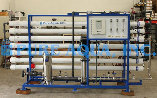 Commercial BWRO Plant 33,000 GPD - Djbouti