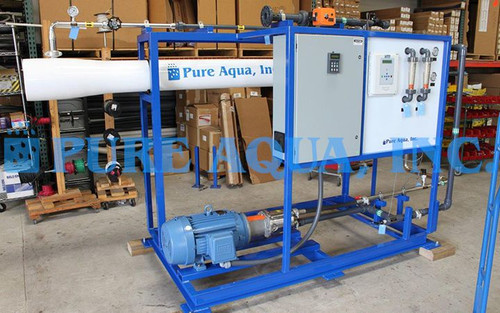 Industrial Seawater RO System Colombia