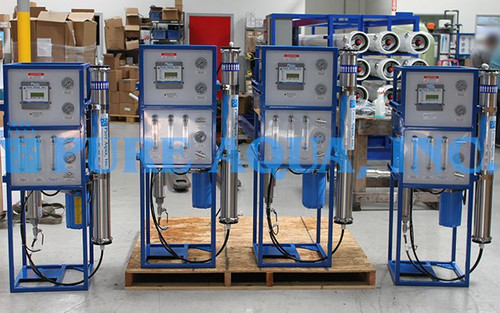 Commercial Brackish Reverse Osmosis Systems 4 x 1,500 GPD - Poland