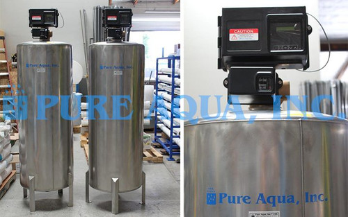 Commercial Twin Alternating Water Softner Unit 97,920 GPD - Saudi Arabia