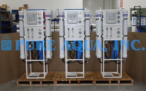 Tap Water RO System 3X 9,000 GPD - Canada