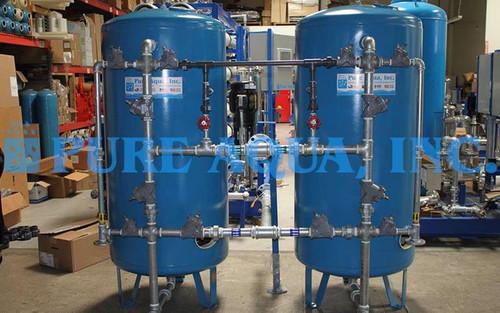 Twin Softener System 50 GPM - Kuwait