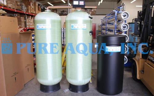 Twin Alternating Water Softener System 56,000 GPD - Costa Rica