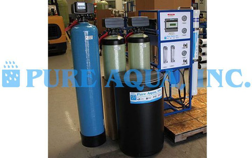 Commercial Reverse Osmosis Water Machine for Restaurant 1,800 GPD - USA