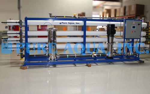 Industrial Reverse Osmosis System for Oil Refinery Bangladesh