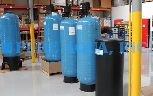 Twin Alternating Water Softener 72,000 GPD - Bolivia