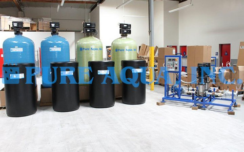 Twin Alternating Water Softener 115,200 GPD - Iraq