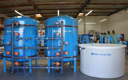 Twin Alternating Softener 2X 367200 GPD - Chile
