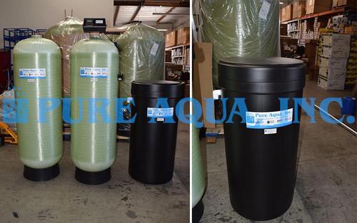 Twin Water Softener 50 GPM - USA
