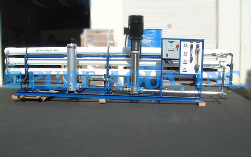 Water Treatment System 130,000 GPD - Algeria