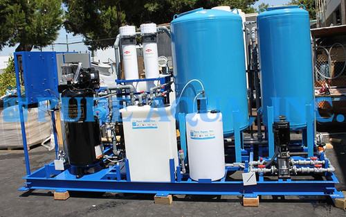 Ultrafiltration Water Treatment Systems 3 m3/hr - Panama