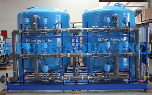 Twin Alternating Carbon Filtration 150 GPM - USA