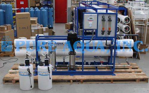 Commercial BWRO Machine 43,000 GPD Peru
