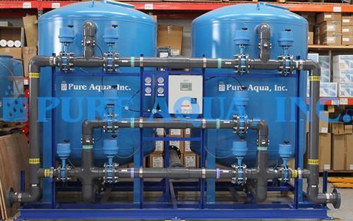 Duplex Multi Layer Filtration System 200 GPM - Mexico