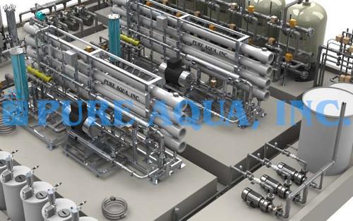 Industrial Desalination Plant w/ Ion Exchange Oman